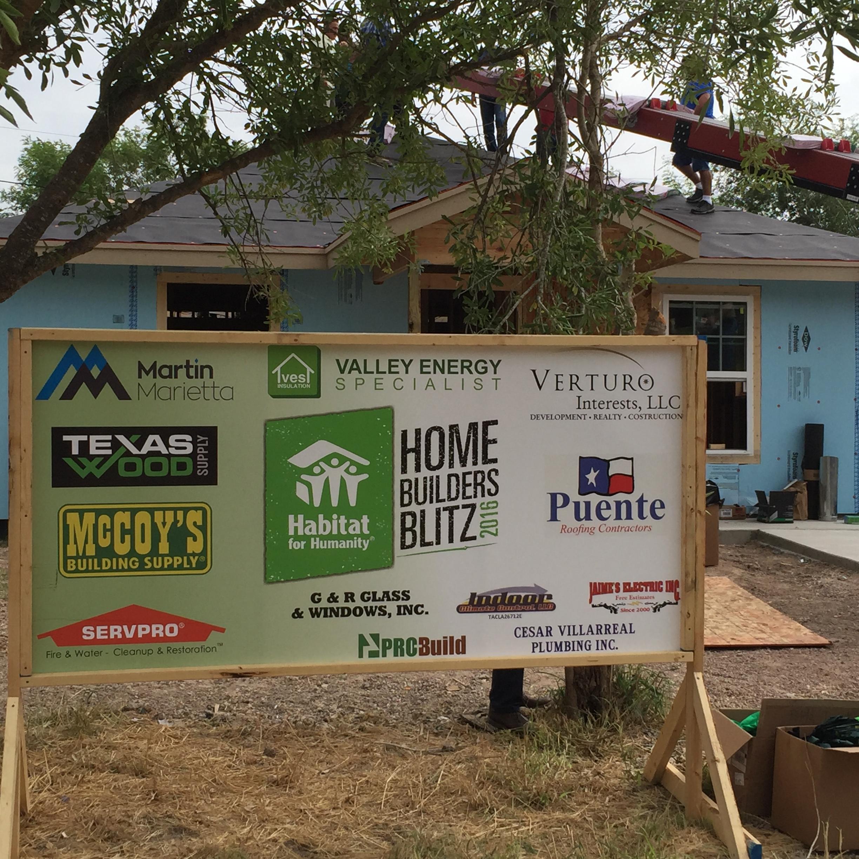 Habitat for Humanity Builders Blitz 2016